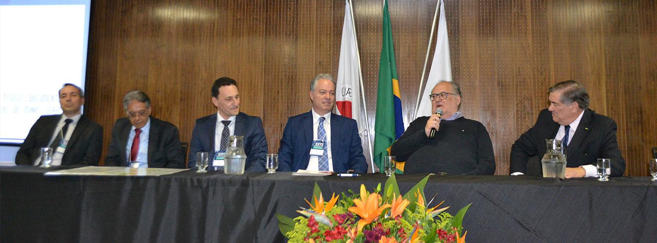 Registro de Imóveis em destaque na abertura do XXVII Congresso Estadual de MG