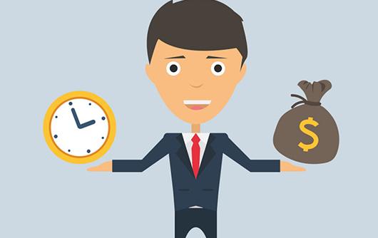 Valor Dinheiro Tempo