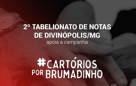 2º Tabelionato de Notas de Divinópolis apoia a campanha Cartórios por Brumadinho