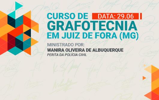 CNB/MG Realiza Curso De Grafotecnia Em Juiz De Fora No Dia 29.06