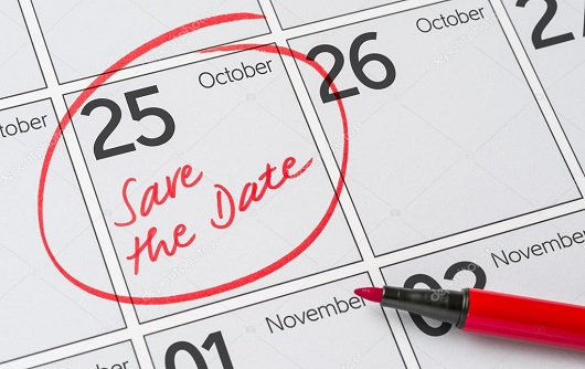 Depositphotos 124161276 Stock Photo Save The Date Written On