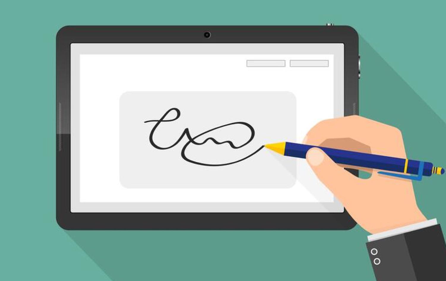 Aprenda Como Fazer Uma Assinatura Eletronica