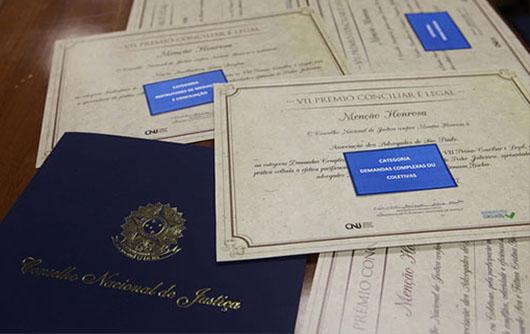 CNJ: Abertas as inscrições para o Prêmio Conciliar é Legal 2018