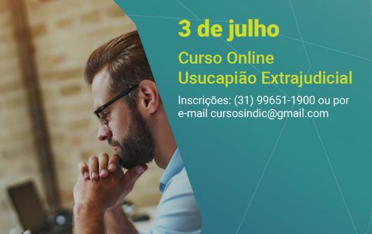 Curso Online Usucapião Extrajudicial