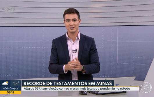 Bom Dia Minas – Minas Gerais Registra Recorde No Número De Testamentos No Primeiro Semestre De 2021